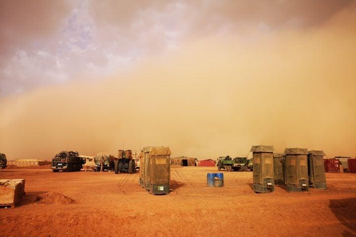 Basis in the desert