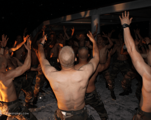 French Foreign Legion party