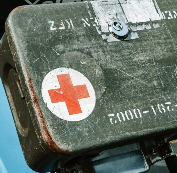 French foreign legoin first aid kit