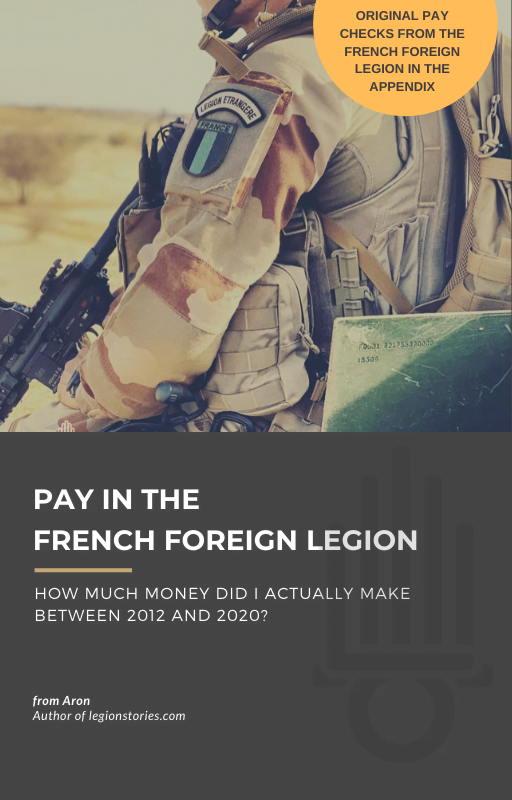 french foreign legion pay